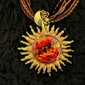 Chico's Sun ☀️ and Moon 🌙 Necklace